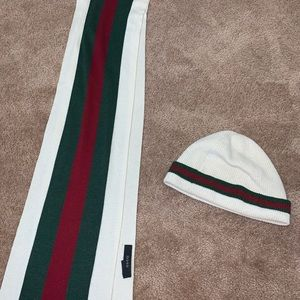 ‼️‼️‼️‼️‼️ AUTHENTIC GUCCI HAT AND SCARF SET❗️❗️❗️